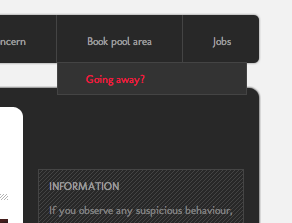 Going away?