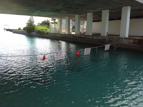 canal barrier