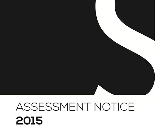 2015 Assessment Notice