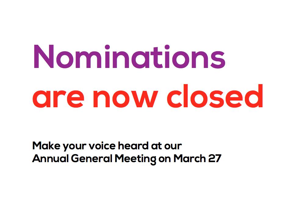 2015 nominations closed