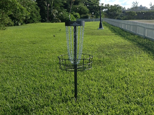 disc golf baskets